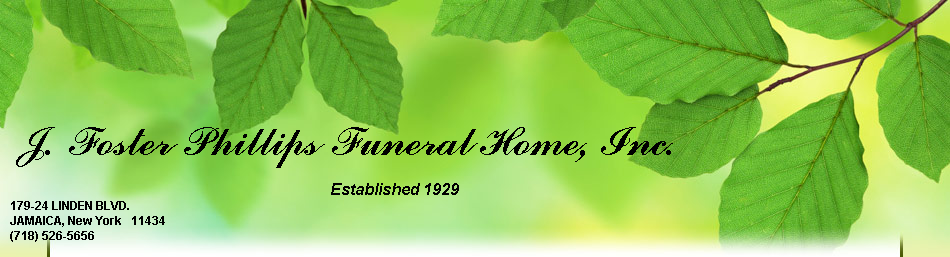 J. Foster Phillips Funeral Home